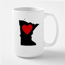Minnesota Heart Mugs