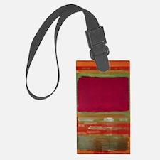RED ORAGNE GREEN ROTHKO Luggage Tag