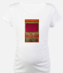 ROTHKO MAROON AND GREEN Shirt