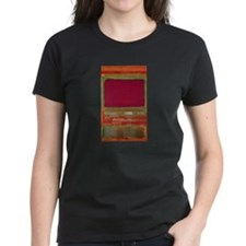 ROTHKO MAROON AND GREEN Tee