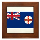 New south wales Framed Tiles