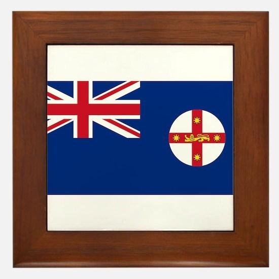New South Wales Framed Tile