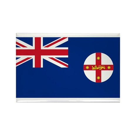 New South Wales Rectangle Magnet