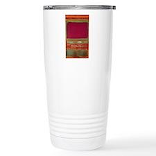 ROTHKO MAROON AND GREEN Travel Mug