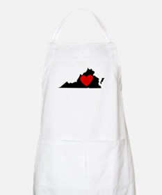 Virginia Heart Apron
