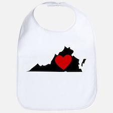 Virginia Heart Bib