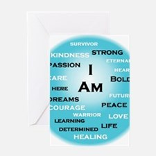 I am Turquoise! Greeting Cards