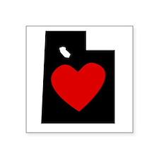 Utah Heart Sticker