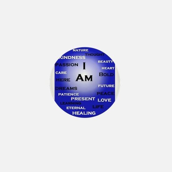 I Am Blue! Mini Button