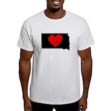 South Dakota Heart T-Shirt
