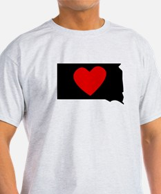 South Dakota Heart T-Shirt