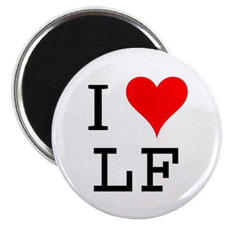 "I Love LF 2.25"" Magnet (10 pack)"