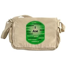 I Am Green! Messenger Bag