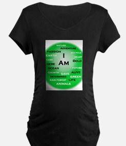 I Am Green! Maternity T-Shirt