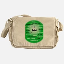 I Am Green! Messenger Bag