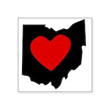 Ohio Heart Sticker
