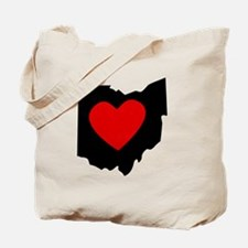 Ohio Heart Tote Bag