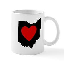 Ohio Heart Mugs