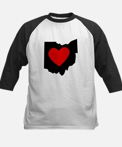 Ohio Heart Baseball Jersey