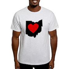Ohio Heart T-Shirt
