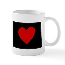 North Dakota Heart Mugs