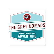 Grey Nomands Sticker