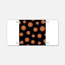 Basketball pattern Aluminum License Plate