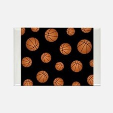 Basketball pattern Magnets