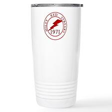Wiley Red Streaks 1971 Travel Mug