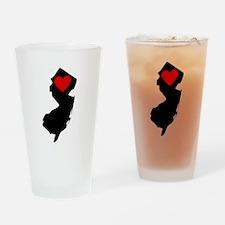 New Jersey Heart Drinking Glass