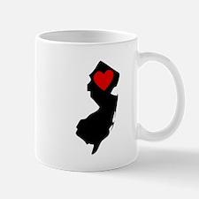 New Jersey Heart Mugs