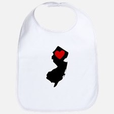 New Jersey Heart Bib