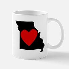 Missouri Heart Mugs