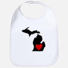 Michigan Heart Bib