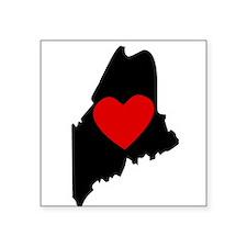 Maine Heart Sticker