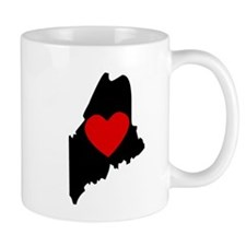 Maine Heart Mugs