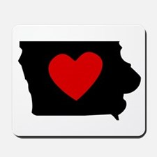 Iowa Heart Mousepad