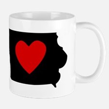 Iowa Heart Mugs