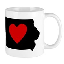 Iowa Heart Mugs