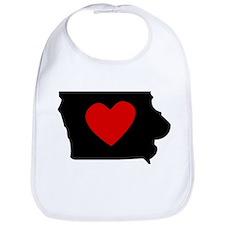 Iowa Heart Bib