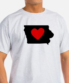 Iowa Heart T-Shirt