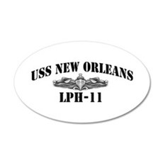 USS NEW ORLEANS Wall Decal