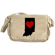 Indiana Heart Messenger Bag