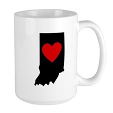 Indiana Heart Mugs