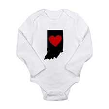 Indiana Heart Body Suit