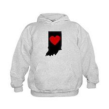 Indiana Heart Hoodie