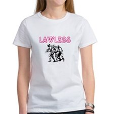 LAWLESS (outlaw rebel street graffiti) T-Shirt