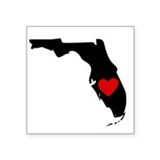 Florida Heart Sticker