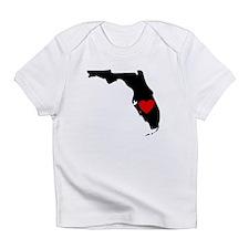 Florida Heart Infant T-Shirt
