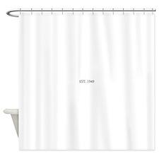 Est 1949 Shower Curtain